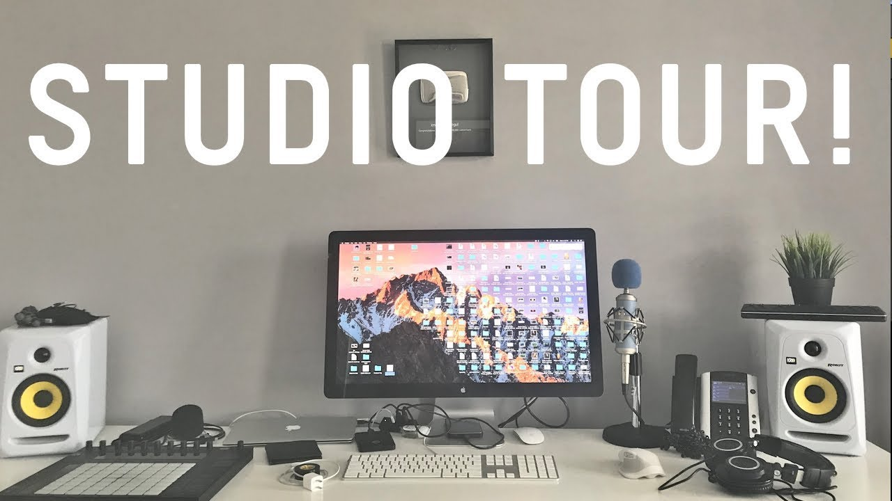 Studio Tour! + FACE REVEAL