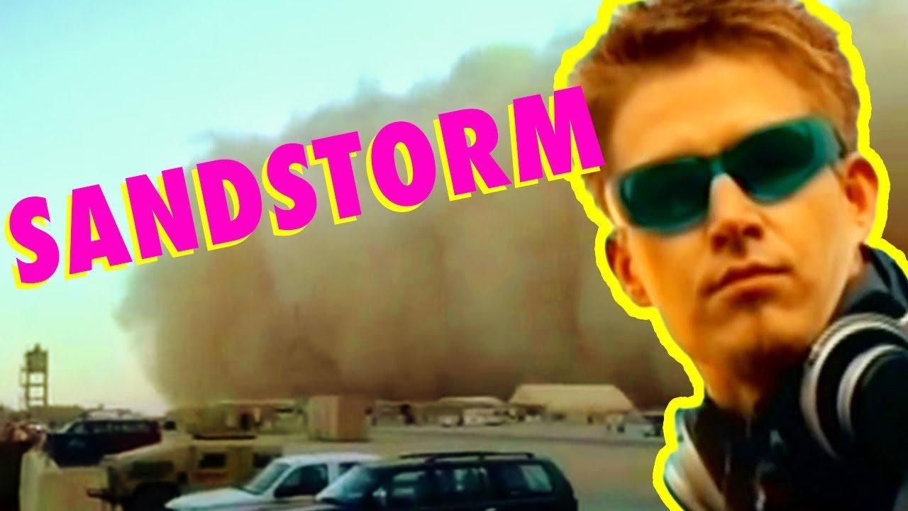 Darude Sandstorm MADE FROM A SANDSTORM