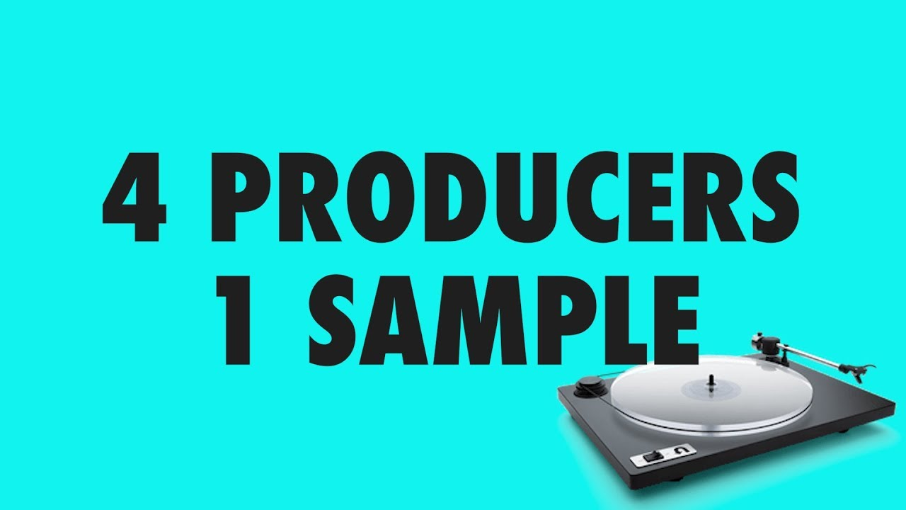 4 PRODUCERS FLIP THE SAME SAMPLE feat. Red Means Recording, Cuckoo, Rachel K Collier
